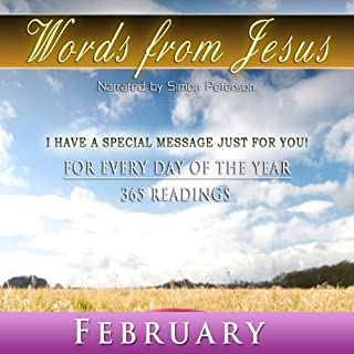 Words from Jesus: February audiobook cover art
