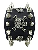 SaySure - Unique Rock Spikes Rivet Gothic Skeleton Skull Punk Biker -