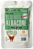 Natural Sea - 野生のつかまえられた固体白いマグロ加えられる塩無し - 3ポンド
