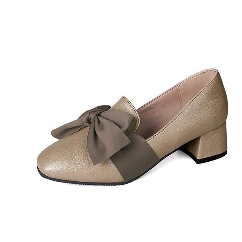 追跡起訴する道を作る[HSFEO] パンプス かわいい レディース ローヒール 蝶結び 歩きやすい カジュアルシューズ ローファー ヴィンテージ オックスフォード ファション 女子力 美脚 細見え 婦人靴 軽便 軽量