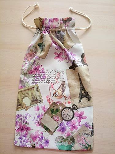 Bolsa de pan tradicional Flores
