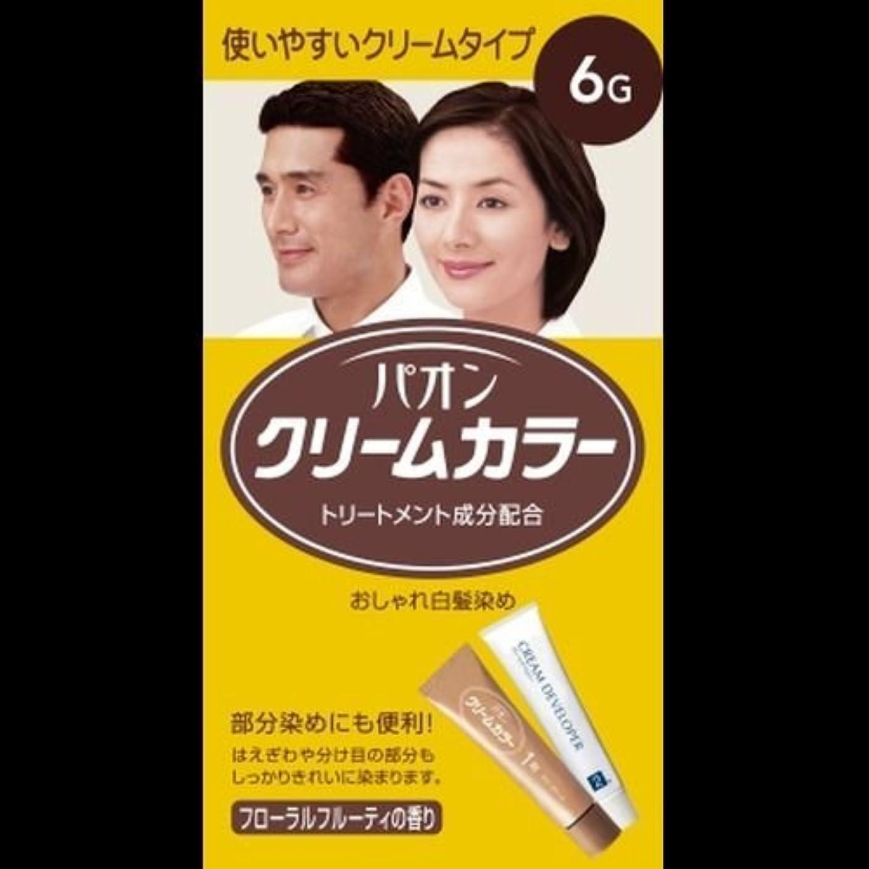 評判パブリーンパオン クリームカラー6-G 自然な褐色 ×2セット