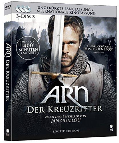 Arn - Der Kreuzritter (Limited Edition) [3 Blu-ray-Set] (Digipack im geprägten Schuber mit Kaltfolien-Kaschierung)
