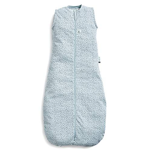 ergoPouch Schlafsack Baby Jersey, 100% Bio Baumwolle - TOG 0.2, Grau, 8-24 Monate (90cm)