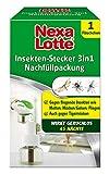 Nexa Lotte Insekten-Stecker 3in1 Nachfüller, wirkt 45 Tage gegen Motten, Fliegen, Fruchtfliegen,...