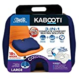 Contour Products Kabooti Coccyx Foam Seat Cushion, Navy, Large