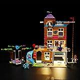 icuanuty Kit de Iluminación LED para Lego 41340, Kit de Luces Compatible con Lego Friends Casa de la Amistad (No Incluye Modelo Lego)