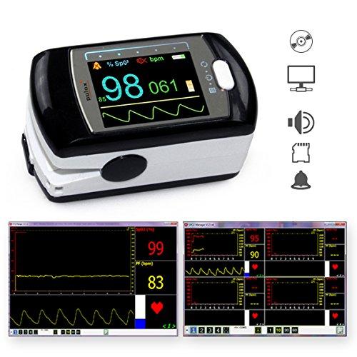 Pulox Pulsossimetro PO-300 saturimetro per misurazione di pulso e...
