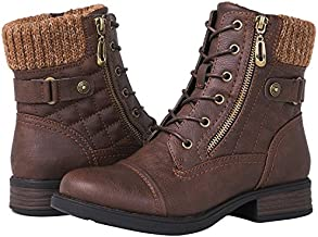 GLOBALWIN Women's 1821 Brown Fashion Boots 10M
