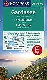 Carta escursionistica n. 697. Lago di Garda e dintorni - Gardasee und Umgebung 1:35.000 (set di 3 carte): 3 Wanderkarten 1:35000 im Set inklusive ... in der KOMPASS-App. Fahrradfahren. Autokarte.