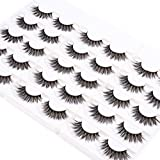 Wleec Beauty 3D Silk Lashes Handmade Dramatic False Eyelash Pack #3D/F15 (15 Pairs/3 Pack)