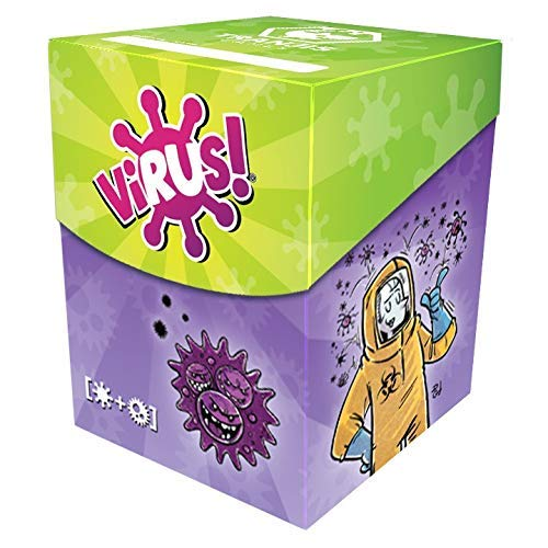 ohmyboo Virus! Deck Box TRANJIS Games