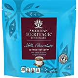 American Heritage 12-ounce Grated Chocolate Pouch - Hot Cocoa with Vanilla, Orange & Cinnamon Flavor - Great Addition To Daily Meals & Dessert - Perfect For Baking, Smoothies/drinks, Yogurt & Cereals