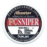 サンライン(SUNLINE) フロロカーボンライン シューター スナイパー 300m 3lb ナチュラルクリア