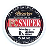 サンライン(SUNLINE) フロロカーボンライン シューター スナイパー 300m 16lb ナチュラルクリア
