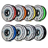 3D Solutech - 3DS8PACKS B07HFKNGNT 3D Printer PLA Filament Bundle 1.75MM, Dimensional Accuracy +/- 0.03 mm, 2.2 lbs 1.0KG (Multi-Pack of 8)