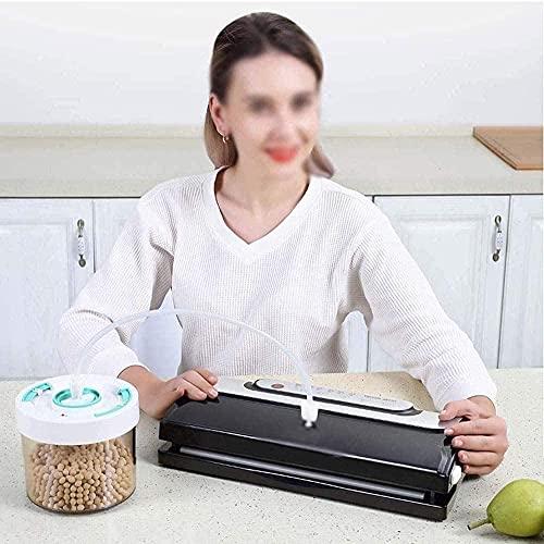 Embasadoras Vacio Maquina Vacio Alimentos Envasadoras al vacío Máquina de sellado al vacío para el hogar y la cocina Sellador manual de alimentos con sistema de sellado al vacío de un toque Máqui