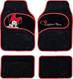 Disney Minnie co Tapis de Voiture en Moquette universels avec Broderie Minnie