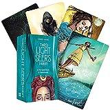 Qianghua Light Seer's Tarot Cards (78-Card) Deck Set, Beginners Guidebook Set (Inglés) Juego de Mesa