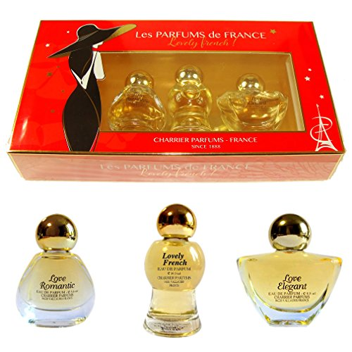 Coffret 3 Parfums Charrier 'Lovely French'