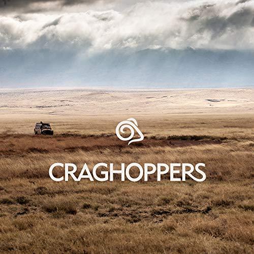 Craghoppers Men's Classic Kiwi Trousers - Black - 34 inch Regular