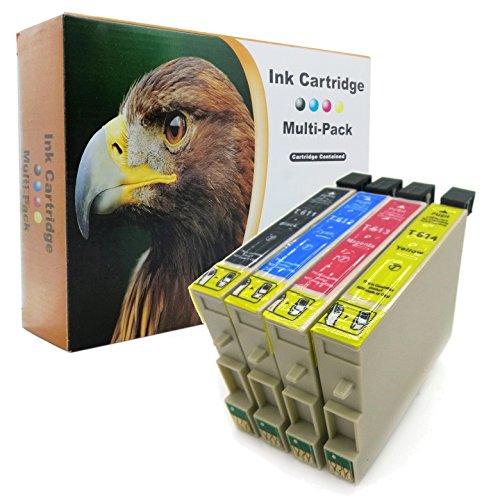 D&C - Juego de 20 cartuchos de tinta para Epson 61XL T611 T612 T613 T614 D68 D68PE D88 D88 Plus D88PE DX 3800 DX 3850 DX 4200 DX 4250 DX 4800 850