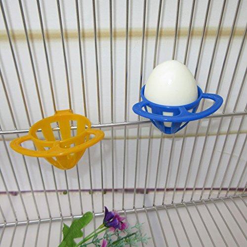 Futterkorb von Autone, zum Aufhängen im Vogelkäfig, für Obst und Gemüse, 1 Stück, zufällige Farbe