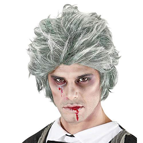 Widmann 06742 ? Perruque Zombie Gris