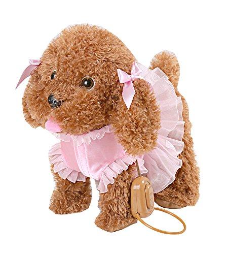 Black Temptation Canto Perro Cachorro para niños, niños, niñas, niños Perro de Juguete