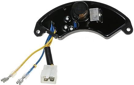 TOOGOO 7KW - 8KW AVR Regulador de voltaje automatico Rectificador para generador de gasolina H4S2