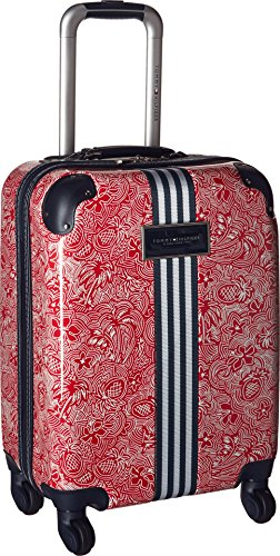Tommy Hilfiger Unisex TH-683 Pineapple Palm 53,3 cm aufrechter Koffer, rot (Rot) - TM114FL7-21
