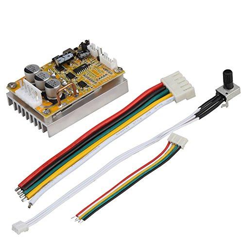 5 V-36 V 350 Watt Breite Spannung 3-phasen-sensorless BLDC Motor Controller Board Brushless ESC Motor Driver Modul mit Kühlkörper