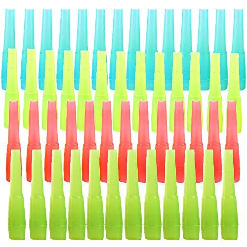 200 Stück Shisha Hygienemundstück, Einweg Mundstücke Hygiene Mundstücke, Shisha Mund Tipps, Einweg Plastik Sicher Einzelpaket Shisha Mund für Besseres Shisha Shisha Rauchen (4 Farben)