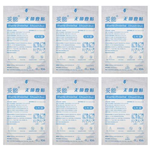 Exceart 15St Wondverband Niet-Klevende Verbandkussens Niet-Geweven Zelfklevende Pleisters Voor Wondverbanden