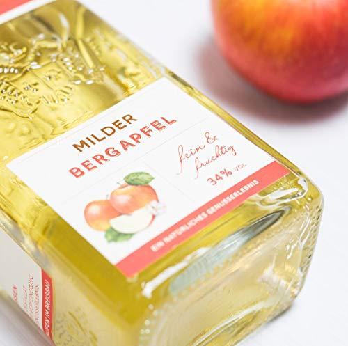 Schladerer Milder Bergapfel, feiner Digestif aus dem Schwarzwald, mild und fruchtig-frisch dank Äpfeln aus Höhenlagen (1 x 0.7 l) - 4
