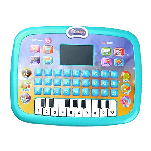 B Blesiya Children Learning Machine Kids Toys Educational Laptop Portable Learning Tablet Educational Toy for 4-6 Years Old Kids - Green