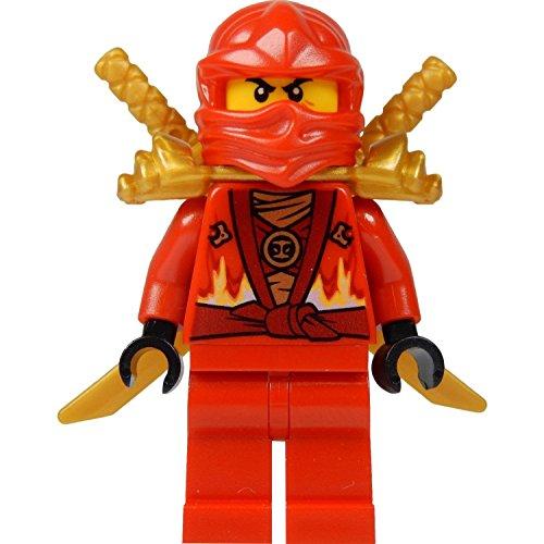 LEGO® Ninjago™ Kai Minifig (Red Ninja) with Two Gold Swords - Limited Edition 2015