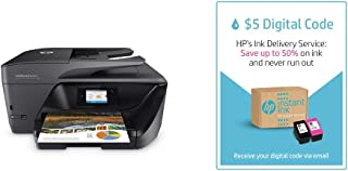 HP OfficeJet Pro 6978 All-in-One Wireless Printer and Instant Ink $5 Prepaid Code