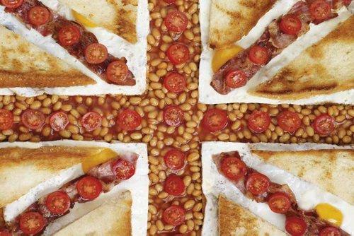 Empire 539915 Howard Shooter - Full Engelse keuken huishouden tomaten bonen poster affiche print - Maxiposter formaat 91,5 x 61 cm