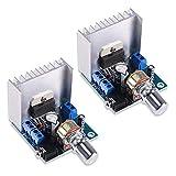 KYYKA 15W + 15W TDA7297 30W potencia audio 12V DC Mini amplificador estéreo amplificador de potencia 2 canales estéreo compatible con DIY Sound Amplify System