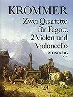 KROMMER F. - Cuartetos (2) Op.46 para Fagot, 2 Violas y Violoncello (Partes) (Pauler)