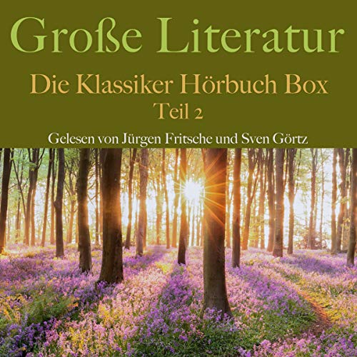 Große Literatur - Die Klassiker Hörbuch Box 2 Titelbild