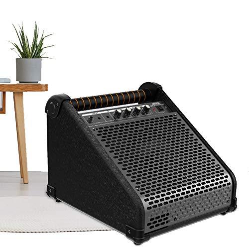 QING.MUSIC Musical Instrument accessories Batería eléctrica Amplificador Monitor Personal Amplificador 40W