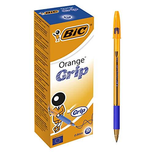 BIC Orange Grip 811926 - Bolígrafo (Azul)