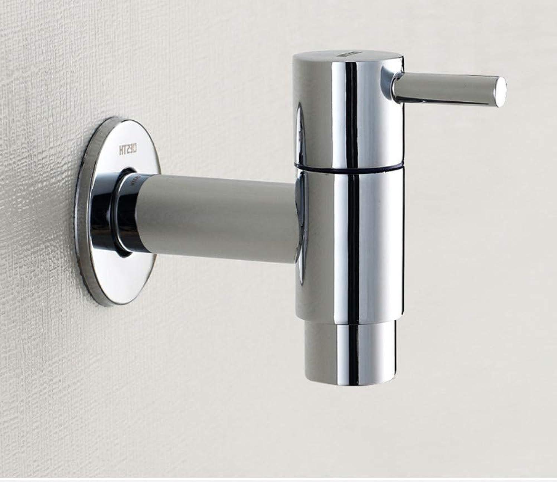JONTON Bathroom faucet copper material mop pool faucet