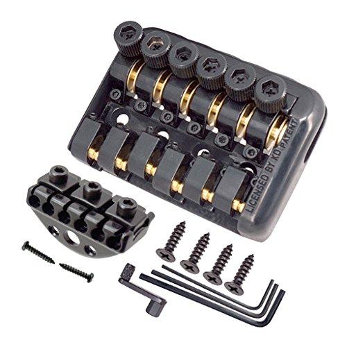 Sharplace Brücke Saitenabstand mit Werkzeug Set für Headless Gitarre