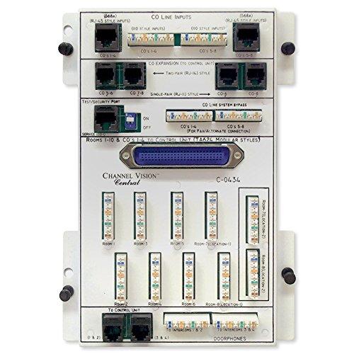 Price comparison product image Channel Vision 8x10 KSU Phone Distribution Module (C-0434)