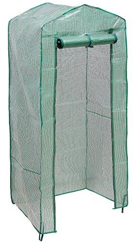 HOGAR AMO Portátil Cubierta de Efecto Invernadero de Jardín Vivero Casero Plantas Cultivos Resistente Al Agua y Resistencia Al Viento y Robusto (4 Niveles Sin Estantes)