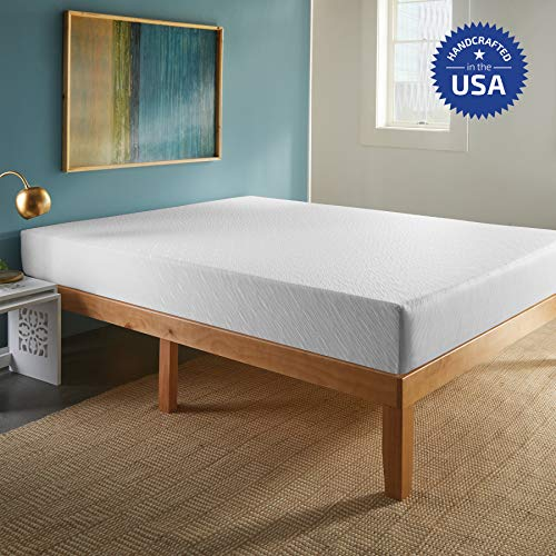SLEEPINC. 8-Inch Memory Foam Mattress, Comfort Body Support, Bed in Box, Medium, Sleeps Cool, No Harmful Chemicals, Handcrafted in The USA, Queen