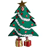 This festive fir is simply winter wonderful. Add some holiday charm your event when you wear the Christmas Tree Costume. Perfect for Halloween, plays, parades, holiday and winter events and costume parties.
